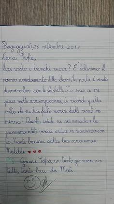 Classe Terza-Italiano-la Lettera- Settembre - Maestra Anita Bullet Journal, 3