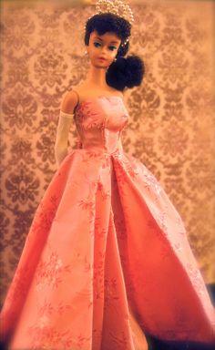 Vintage Barbie - No. 6 Ponytail - brunette