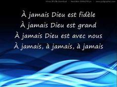 ▶ À Jamais (Dieu Est Fidèle) - Français - YouTube