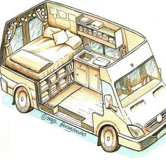Connect with the van life community on our forum. Ask questions, engage, interact discuss, and unite with fellow nomadic!You Must Know About Minivan Camper Conversion - Vanlife & Caravan RenovationND - I like this style for a van sketch - PhotopinJust bec Minivan Camper Conversion, Camper Van Conversion Diy, Van Conversion Layout, Van Conversions Ideas, Sprinter Van Conversion, Van Conversion Interior, Van Conversion How To, Van Conversion Cabinets, Van Conversion With Bathroom