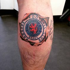 Image result for glasgow rangers tattoos