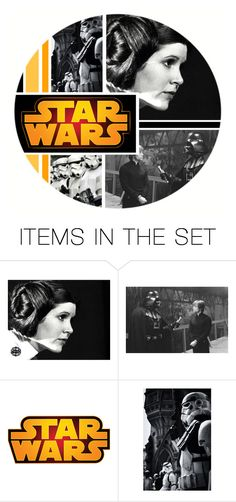 """""""Star Wars"""" by ameve ❤ liked on Polyvore featuring art"""