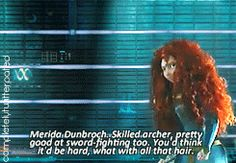 The Big Four: Merida Dunbroch Guardians of the Galaxy Style