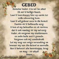 prayer in afrikaans - Yahoo Search Results Yahoo Image Search Results Pray Quotes, Bible Verses Quotes, Inspiring Quotes About Life, Inspirational Quotes, Motivational, Afrikaanse Quotes, Bible Love, Message Of Hope, Prayer Verses