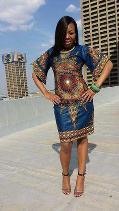 Beautiful fabric and dress