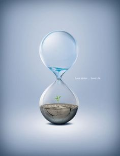 """When you conserve water, you conserve life! """"World Water Day"""" Save Nature ! Creative Advertising, Advertising Poster, Advertising Design, Social Advertising, Advertising Campaign, Save Water Save Life, Effective Ads, Top Imagem, Water Poster"""