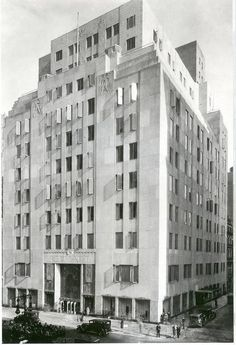 New York City | Art Deco Stewart and Company Building, 725 Fifth Avenue at East 56th Street, Warren & Wetmore, 1929. Demolished.
