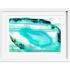 Oliver Gal Artana Agate Turca Framed Painting Print   AllModern