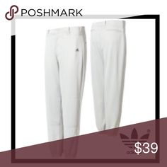 TWO Pair Adidas Baseball Style Athlete Pants Set of Two Pairs New without tags - Adidas's Baseball style Athlete's Around paradise pants in white and black sizes for These are XL ❤️❤️❤️ Adidas Pants Track Pants & Joggers