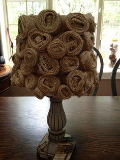 hermosas ideas con arpillera