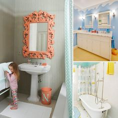 Playful And Colorful Kids' Bathroom Design Ideas