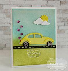 Wishing You A Groovy Birthday Handmade Cards Birthday #tayloredexpressions