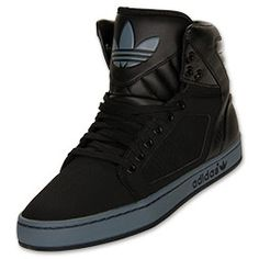 The adidas Originals adiHigh EXT Men's Casual Shoes have an all leather build for a standout look. The classic silhouette offers a versatile style that's just as good for the streets as it is the court or quarter-pipe. Details include vulcanized outsole for superior traction and stylish perforated 3-Stripes on the sides