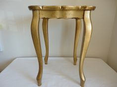 Italian Gold Guilded Side Table