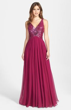 Dark Fuschia (berry) dress...Love this color!
