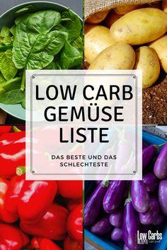 Eine riesige Low Carb Gemüse Liste mit den besten und schlechtesten Gemüsesorten für eine Low Carb oder Keto Diät. Gemüse wird mit seinem Net Carb Gehalt als Liste von Low Carb Gemüse mit 1g Carb und mehr aufgeführt. Es gibt auch eine Liste der Gemüse, die bei einer Low-Carb- oder Keto-Diät vermieden werden sollten. Keto, Low Carb Vegetables List, Tips And Tricks, Health