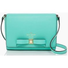"HOST PICKKATE SPADE Holly St. Rubie 5 star rated * SOLD OUT in stores & online * Kate Spade Holly St. Rubie handbag in Tiffany blue smooth cowhide leather. Can be worn as a crossbody bag by day, or with the strap tucked in as a clutch in the evening. Magnetic flap closure, interior zip & slip pockets with signature KS bow, and 14 kt. gold Spade stud. Measures 5.5""h. x 8""w. x 2""d. Strap drop is 20""-22."" Style #PXRU4767. Trades PP Comes in original dust bag & box. kate spade Bags Crossbody…"