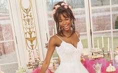 BHLDN, the direct-to-consumer bridalwear brand of Anthropologie, has launched its latest collaboration. Created in partnership with designer Hayley Paige, the exclusive line joins the two brand's signature styles. The Hayley Paige x BHLDN co Girls Dresses, Flower Girl Dresses, Hayley Paige, Iconic Women, Bhldn, Signature Style, Collaboration, Wedding Gowns, Anthropologie
