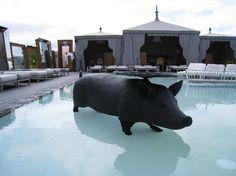 SLS Hotel Beverly Hills pool