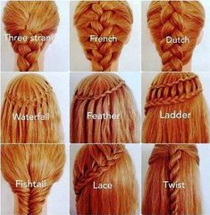 25 Easy Hairstyles With Braids (How To)