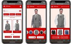 Ui Ux Design, Mens Suits, Buy Now, Suit Jacket, Behance, Color, Fashion, Dress Suits For Men, Moda