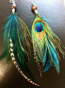 XZP Women's Earrings Bohemian Jewelry Gifts Pendant Metal Tribal Feather Tibetan Dangle Earring – Terri's Treasures Jewelry & Gift Shop Feather Jewelry, Boho Jewelry, Jewelry Crafts, Jewelry Art, Jewellery, Peacock Earrings, Feather Earrings, Beaded Earrings, Native American Earrings