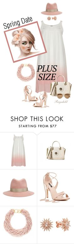 """Spring Date Plus Size"" by ragnh-mjos ❤ liked on Polyvore featuring rag & bone, Kenneth Jay Lane and Yves Saint Laurent"