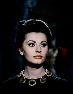 "Sophia Loren ...  ""Fall of the Roman Empire"""