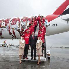 Um avião à Benfica! ✈️ #Juntos
