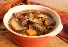 Slow Cooker Italian Vegetable Beef Soup Recipe