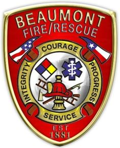 Beaumont Fire and Rescue Services Logo