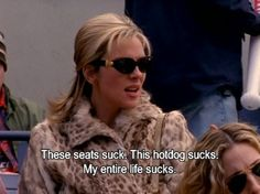 "Sometimes you can be a little overdramatic, but it's part of your charm. | 25 Signs You Might Be Samantha Jones From ""Sex And The City"""