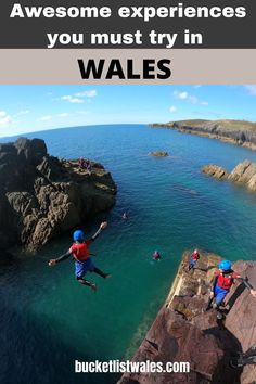 Whether you love outdoor activities, wildlife, magnificent architecture or dramatic scenery, there's something for everyone in Wales. Check out our list of unique experiences in Wales and get inspired. Choose from biking, hiking, zip-lining, coasteering, pottery classes, stargazing and more! Wales travel | outdoor adventure UK | UK travel | Get outside | adventure travel Winter Travel, Summer Travel, Best Places To Travel, Cool Places To Visit, Brecon Beacons, Zip Lining, Pottery Classes, Snowdonia, Things To Do In London