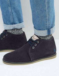 dc6e79ece27d89 Shop Original Penguin Suede Desert Boots at ASOS.