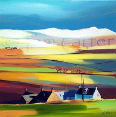 Pam Carter Arran Paintings