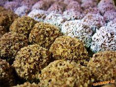 !!! LUXUSŇOUČKÉ !!! NEPEČENÉ KULIČKY Z HORALEK, OBALENÉ V KOKOSU, OŘÍŠKÁCH ... ÚÚÚŽASNĚ LAHODNÉ A NÁPADITÉ!!!! Christmas Sweets, Christmas Cookies, Russian Recipes, Sweet And Salty, No Bake Cake, Vegetable Recipes, Sweet Recipes, Sweet Tooth, Food And Drink