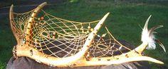 Elk Antler Dream Catcher by WisperingSwallow on DeviantArt