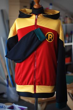 Custom Made DC Comics Superhero Hoodies — GeekTyrant. Ok i have to have one of these! I wish these weren't so expensive. I want the second Robin hoodie.