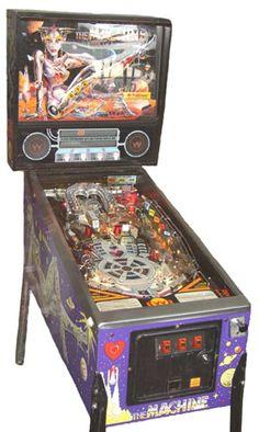 Pinball Machines - Bride of Pinbot Pinball Machine - The Pinball Company