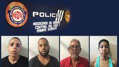 Durante la tarde de ayer, agentes adscritos a la División Drogas y Narcóticos Área Fajardo, realizaron varias intervenciones en el residencial Pedro Rosario Nieves en Fajardo, logrando el arresto de cinco personas por los delitos de Ley de Armas, sustancias controladas, agresión y obstrucción a la justicia. Según se informó los agentes arrestaron a cinco personas ocupándoles, una pistola Glock modelo 20SF, calibre 10mm cargado con nueve municiones, 110 bolsas de crack, 37 bolsas de c...