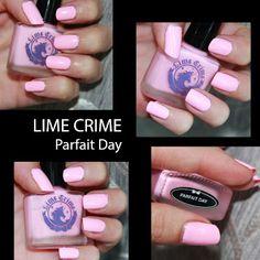 MichelaIsMyName: NOTD // LIME CRIME Parfait Day