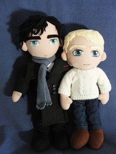Sherlock Holmes. Again. - TOYS, DOLLS AND PLAYTHINGS - Knitting, sewing, crochet, tutorials, children crafts, papercraft, jewlery, needlework, swaps, cooking and so much more on Craftster.org