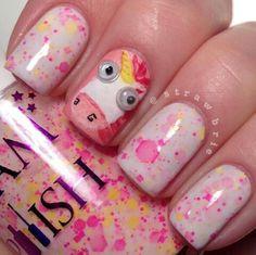 despicable me unicorn nails - photo #4
