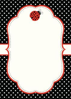 Melany Isabella Diy And Crafts, Arts And Crafts, Paper Crafts, Red Classroom, Cute Frames, Ladybug Party, Baby Shower Invitation Templates, Borders And Frames, Chart Design