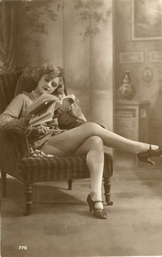 Love me some mary janes - these from the 1920s.