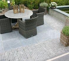 Inspect these 10 recommended good ideas all about Back Gardens, Outdoor Gardens, Driveway Materials, Pergola, Paved Patio, Garden Paving, Mediterranean Garden, Outside Living, Yard Design
