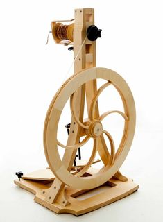 Acadia Spinning Wheels — infinite twist