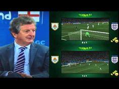 Roy Hodgson's reaction to Suarez's second goal - YouTube