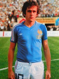 Football Icon, World Football, Sport Football, Football Shirts, Michel Platini, Uefa European Championship, Football Mondial, Blue Is The Warmest Colour, Fifa