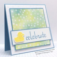 Fabulous Four, Something for Baby, Irresistibly Yours, Stampin' Up!, Brian King